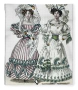 Womens Fashion, 1828 Fleece Blanket