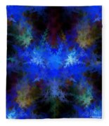 Fractal Fleece Blanket