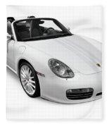 2008 Porsche Boxster S Sports Car Fleece Blanket