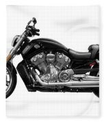 2010 Harley-davidson Vrsc V-rod Muscle Fleece Blanket