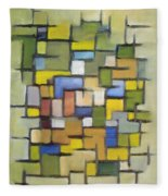 2012 Abstract Line Series Xx Fleece Blanket