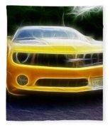 2012 Chevrolet Camaro Rs Fleece Blanket