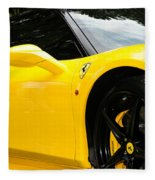 2012 Ferrari 458 Spider  Fleece Blanket