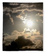 2012 Sunset October 26 Fleece Blanket