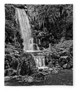 20120915-dsc09800_bw Fleece Blanket