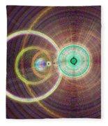 Circle Art Fleece Blanket