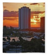 21- Phil Foster Park- Singer Island Fleece Blanket