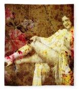 Winsome Woman Fleece Blanket