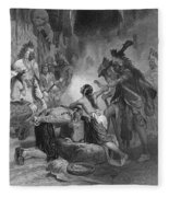 Pocahontas (1595?-1617) Fleece Blanket