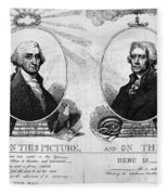 Thomas Jefferson (1743-1826) Fleece Blanket