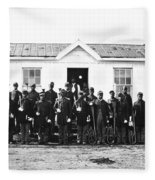 Civil War: Black Troops Fleece Blanket