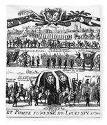 Louis Xiv (1638-1715) Fleece Blanket
