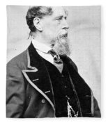 Charles Dickens (1812-1870) Fleece Blanket