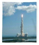 Space Shuttle Discovery Fleece Blanket