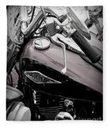 3 - Harley Davidson Series Fleece Blanket