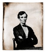 Abraham Lincoln, 16th American President Fleece Blanket
