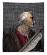 Amerigo Vespucci (1454-1512) Fleece Blanket