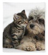 Animal Friends Fleece Blanket