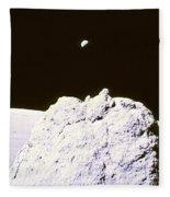 Apollo Mission 17 Fleece Blanket