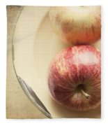 3 Apples Fleece Blanket