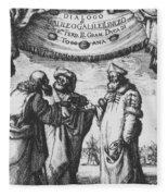 Aristotle, Ptolemy And Copernicus Fleece Blanket