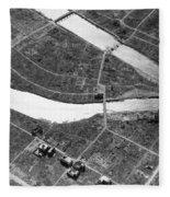 Atomic Bomb Destruction, Hiroshima Fleece Blanket
