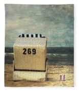 Beach Chair Fleece Blanket
