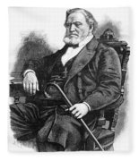 Brigham Young (1801-1877) Fleece Blanket