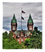 Buffalo Psychiatric Center Fleece Blanket