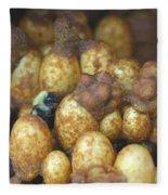 Bumblebee Nest Fleece Blanket