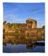 Caerphilly Castle Fleece Blanket