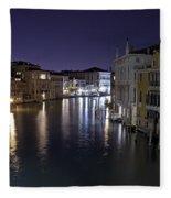 Canal Grande Fleece Blanket