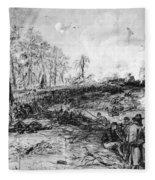 Civil War: Spotsylvania Fleece Blanket