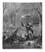 Civil War: Wounded Fleece Blanket