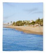 Costa Del Sol In Spain Fleece Blanket