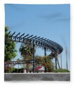 El Pueblo De Los Angeles Fleece Blanket