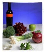 Foods Rich In Quercetin Fleece Blanket