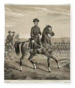 Franz Sigel (1824-1902) Fleece Blanket