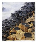 Giants Causeway, Co Antrim, Ireland Fleece Blanket