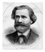 Giuseppe Verdi (1813-1901) Fleece Blanket