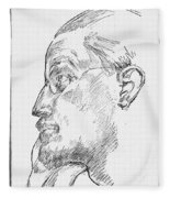 James Joyce (1882-1941) Fleece Blanket