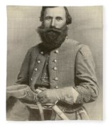 Jeb Stuart, Confederate General Fleece Blanket