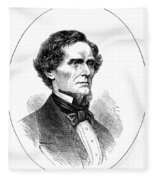Jefferson Davis (1808-1889) Fleece Blanket