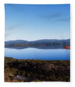 Kenmare Bay, Dunkerron Islands, Co Fleece Blanket