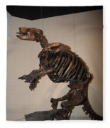 La Brea Tar Pits Fleece Blanket
