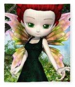 Lil Fairy Princess Fleece Blanket