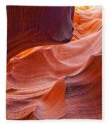 Lower Antelope Canyon, Arizona Fleece Blanket