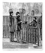 Ludlow Street Jail, 1868 Fleece Blanket