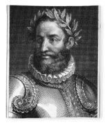 Luiz Vaz De Camoes (1524-1580) Fleece Blanket