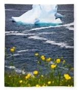 Melting Iceberg Fleece Blanket